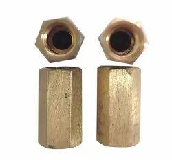 Hexagonal GC Column Brass Nuts