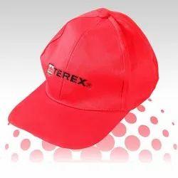 Red Printed Cap