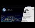 HP 651A Black Original LaserJet Toner Cartridge CE340A