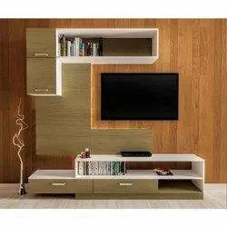 Wall Mounted Wooden TV Cabinet, For Home Hotel