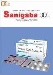 Sanigaba 300, Packaging Size: 10*10 Caps,alu-alu Pack