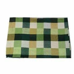 Checked Handloom Bed Sheet