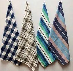 Cotton Printed Kitchen Tea Towels, 0.132 G, Size: 45 X 70 Cm