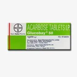 50 Mg Acarbose Tablets IP