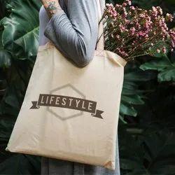 Printed Cloth Bag, Design/Pattern: Printed,Plain, Capacity: 5 Kg