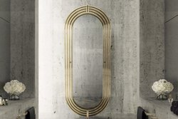 Stainless Steel Modern Golden Mirror Frame