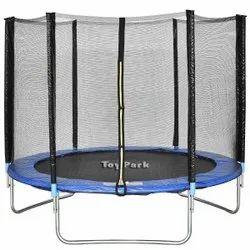 Toy Park 8 Ft. Premium Enclosed Trampoline (PI 500)