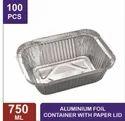 750 mL Aluminum Foil Containers