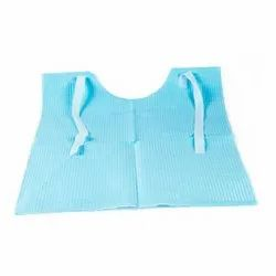 PP Blue Oro Tie Back Dental Apron, For Safety & Protection, Size: Medium