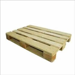 Rectangular Soft Wood Compressed Wooden Pallet, For Shipping, Capacity: 1200 Kg