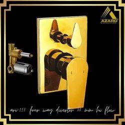 Brass Rectangular Diverter 40mm Azaro Ora, For Faucet