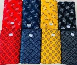 120 Gsm Rayon Checks Fabric
