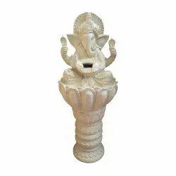 Floor Touch Indoor Water Fountain Ganesha