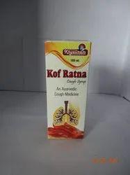 Kof Ratna Syrup, Packaging Type: Bottle