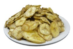 Salted Mari Banana Chips, Refined Oil