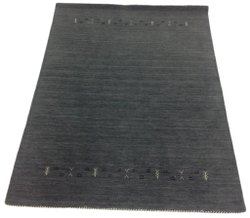 Gray Grey Cotton FAF00261 Hand Loom Faf Carpet