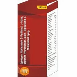 Lycopene, Niacinamide, D-panthenol, L-lysin Hcl, Multivitamin, Multimineral Syrup