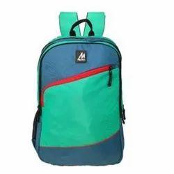 迈克校园背包-蓝色和薄荷绿