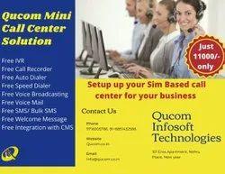 English & Hindi Qucom Smart Call Center Solution, In Delhi