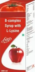 B Complex Syrup With L Lysine