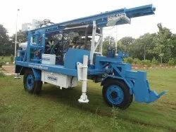 Self Propelled Trolley Mounted Drilling Rig For Water Well