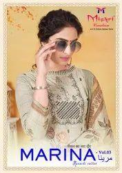 Mishri Creation Marina Vol 3 Cotton Karachi Dress Material Catalog