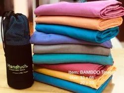 Handtuch Dobby Bamboo Bath Towels, 250-350 Gsm, Size: 33x66, 22x33