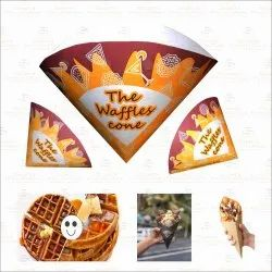 Waffle Paper Cone