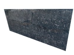 Polished Majestic Black Granite Slab, For Countertops, Thickness: 16mm