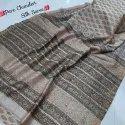Exclusive Beautiful Designer Bagru Hand Block Printed Pure Chanderi Silk Saree