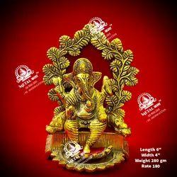280 Gm Metal Ganesha Statue