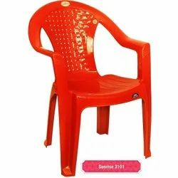 Plastic Red Chair
