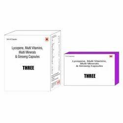 Lycopene Multi Vitamins Multi Minerals & Ginseng Capsules
