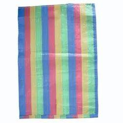 Rectangular Multicolour HDPE Woven Bag, For Packaging