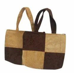 Multicolor Velvet Handbag