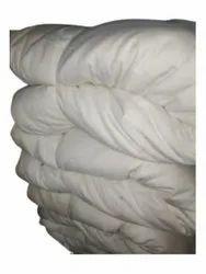 Plain White PolyesterCotton Fabric