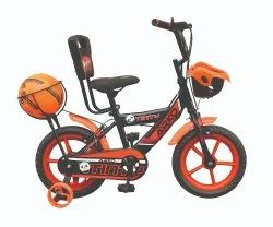 Kids Cycle With Football