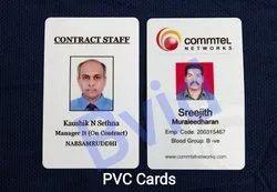 Rectangular multicolor PVC Identity Cards
