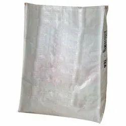 Rectangular White HDPE Woven Bag, For Packaging