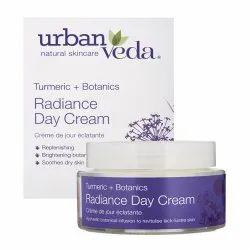 50ml Urban Veda Radiance Turmeric Day Cream, Ingredients: Turmeric,Botanics
