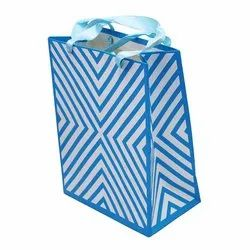 Rectangular iLife Gift Bags 17.7 x 10 x 23 CM 12 Pcs Paper Gift Bags Blue, For Gifting
