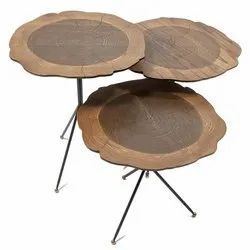 Wooden Live Edge Tables