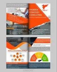 One Time Online And Offlne E Brochure Design Services
