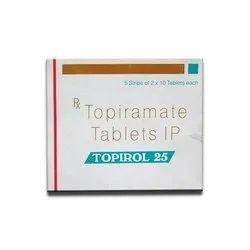 Topirol 25mg ( Topiramate)