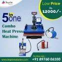 5 In One Heat Transfer Machine