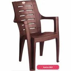 Burgundy Plastic Chair