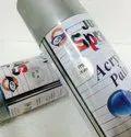 Silver - Heat Resistant (Upto 600.C) Spray paints - Just Spray