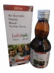 An Ayurvedic Herbal Blood Purifier Syrup