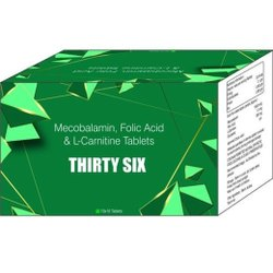 Mecobalamin Folin Acid & L-Carnitine Tablets
