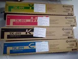 Kyocera TK 899 Toner Cartridge, Combo Pack of 4 Colour Set